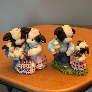 Lot of 2 Family Mary Moo Moos